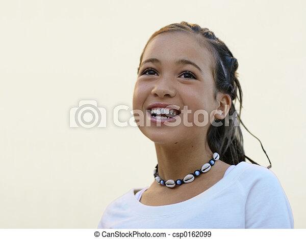 Happy girl - csp0162099