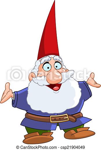Happy gnome - csp21904049