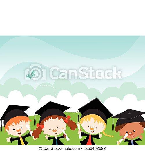 Happy Graduates - csp6402692