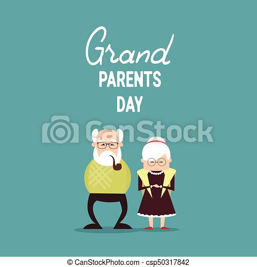 Happy grandparents day greeting card banner vector illustration happy grandparents day greeting card banner csp50317842 m4hsunfo