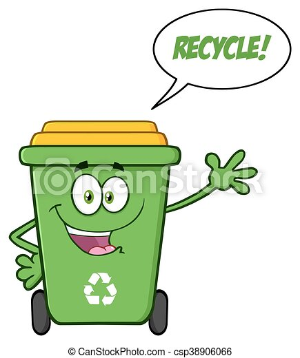 happy green recycle bin and text happy green recycle bin clip rh canstockphoto ca test clip art test clip art free