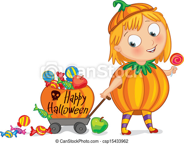 Happy Halloween - csp15433962