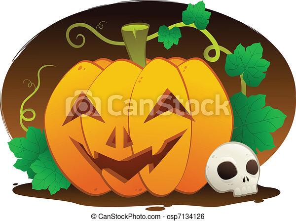 Happy Halloween - csp7134126