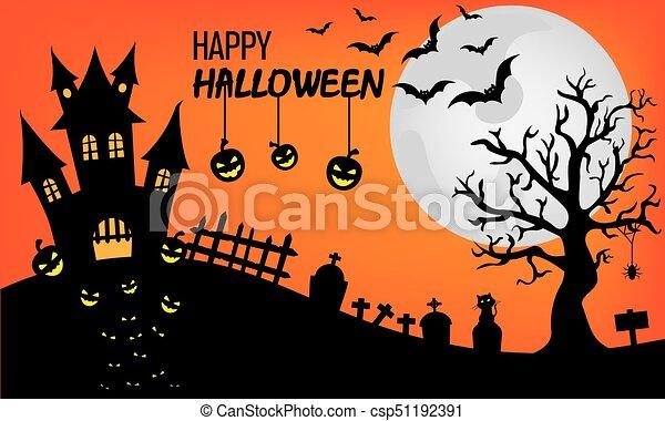Happy Halloween - csp51192391