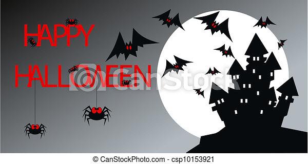 happy halloween - csp10153921