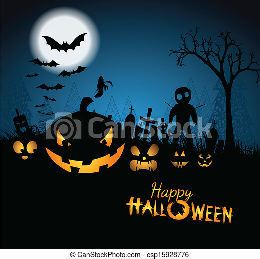 Happy Halloween - csp15928776