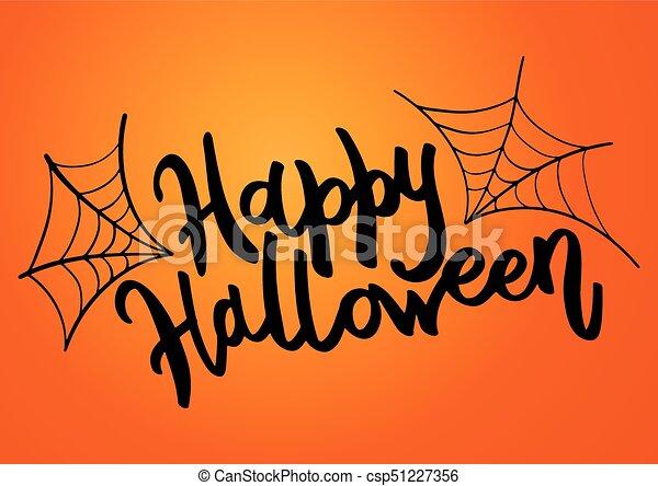 happy halloween message design background vector clipart vector
