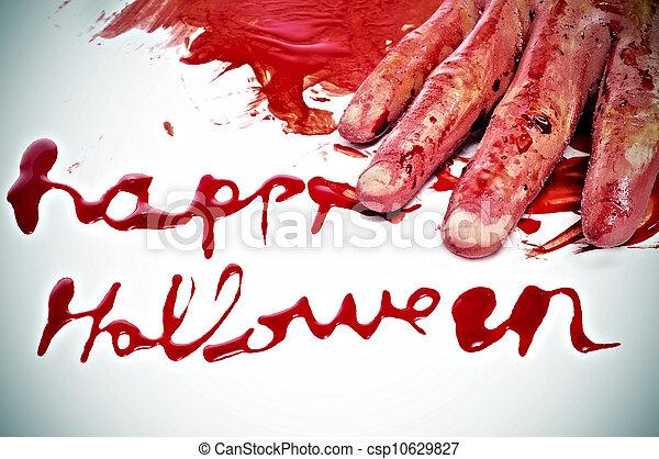 Happy Halloween - csp10629827