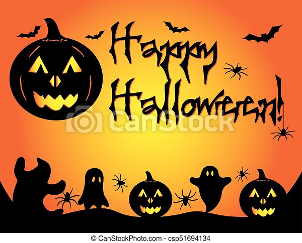 Happy Halloween Template Flyer Pumpkin Halloween Flyer Poster