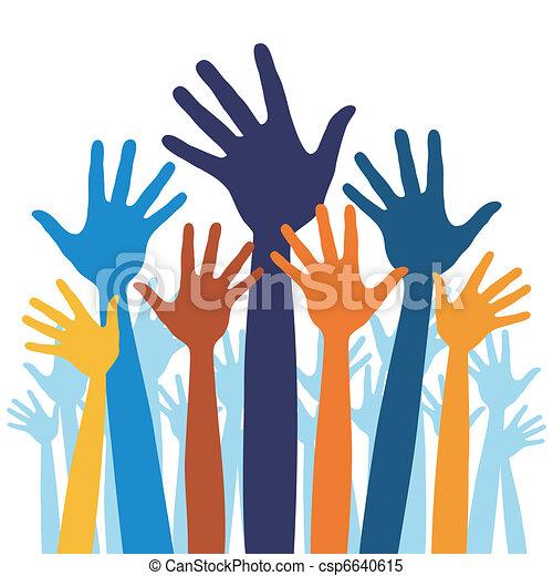 happy hands vector happy hands vector illustration clipart rh canstockphoto com hand vector free hands vector psd