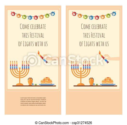 Happy hanukkah greeting card design snowing holiday template for happy hanukkah greeting card design snowing holiday template for party invitation hebrew letters on m4hsunfo