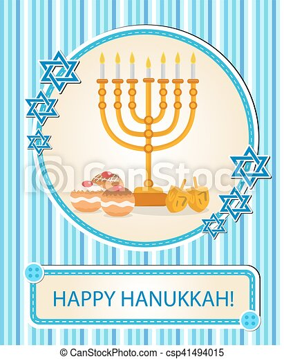 Happy hanukkah greeting card invitation poster hanukkah vector happy hanukkah greeting card invitation poster hanukkah jewish festival of lights feast of m4hsunfo