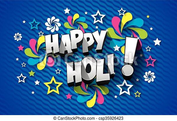 Happy holi greeting card creative colorful happy holi greeting card happy holi greeting card csp35926423 m4hsunfo