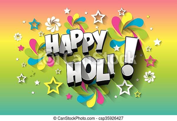 Happy holi greeting card creative colorful happy holi greeting card happy holi greeting card csp35926427 m4hsunfo