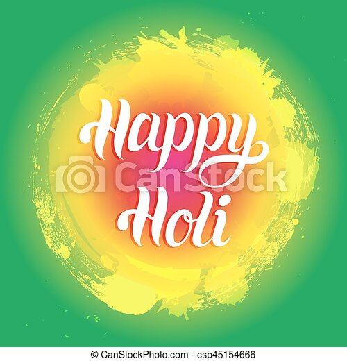Happy holi greeting card poster festival of colours in india happy holi greeting card poster festival of colours in india vector background holiday of sharing m4hsunfo
