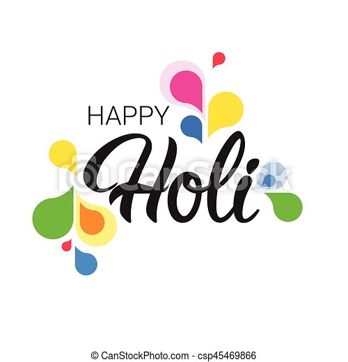 Happy holi religious india holiday traditional celebration greeting happy holi religious india holiday traditional celebration greeting card csp45469866 m4hsunfo