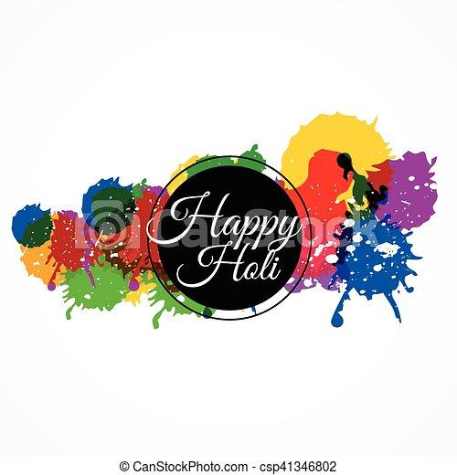 happy holi with colorful splash vector clipart search illustration rh canstockphoto com splash vectoriel gratuit splash vectoriel