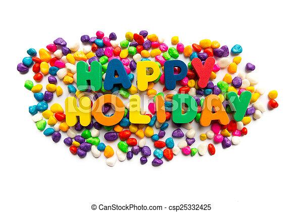 happy holiday - csp25332425
