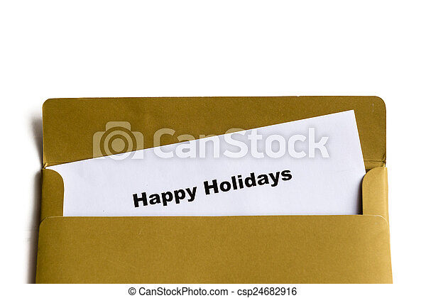 happy holidays - csp24682916