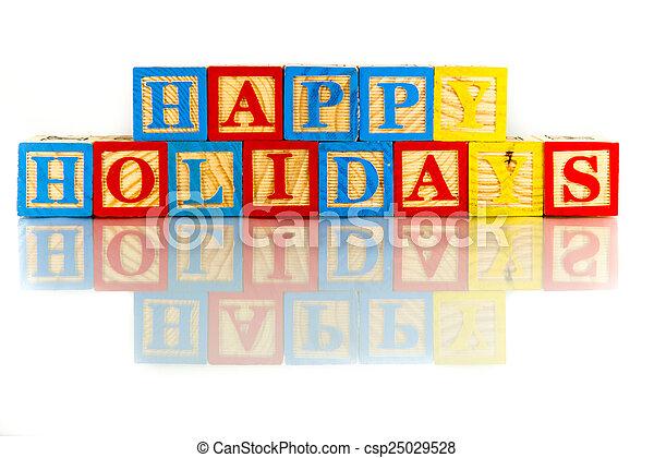 happy holidays - csp25029528
