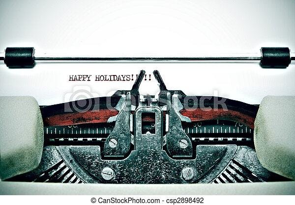 happy holidays - csp2898492