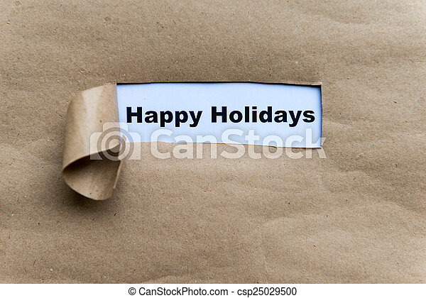 happy holidays - csp25029500