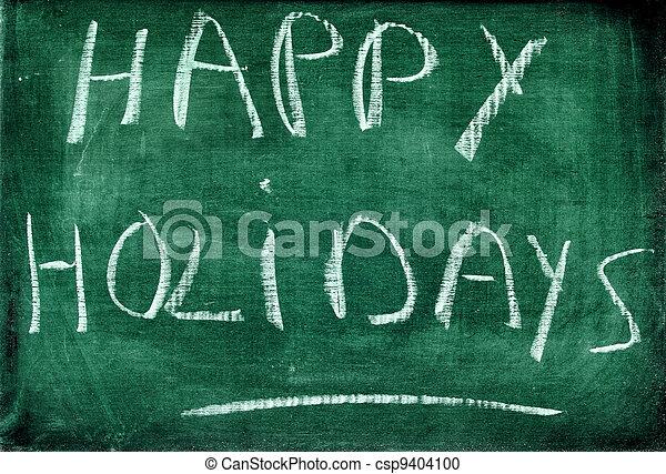 happy holidays - csp9404100