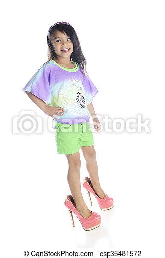 Young girl in heels pics 675