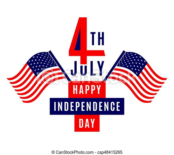 happy independence day july 4th usa memorial day flag clip rh canstockphoto com happy independence day free clipart free christian independence day clipart