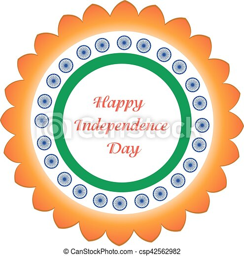 Happy india independence day 5 july independence day greeting card happy india independence day 5 july independence day greeting card india vector illustration m4hsunfo