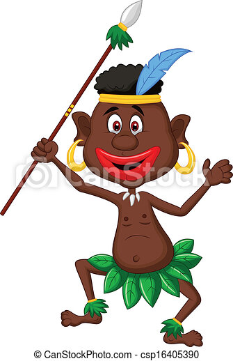 vector illustration of happy indigenous people cartoon eps rh canstockphoto com free dance party music free dance party invitation templates