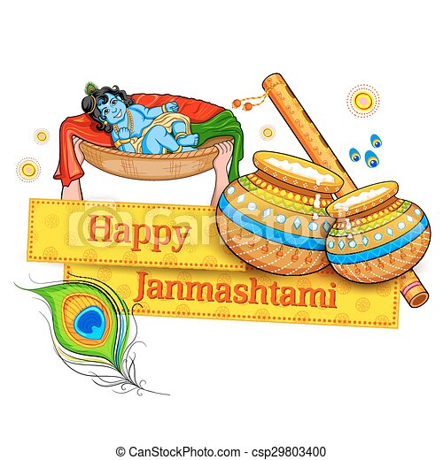 Happy Janmashtami - csp29803400