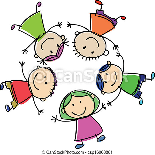 happy kids clip art vector search drawings and graphics images rh canstockphoto com