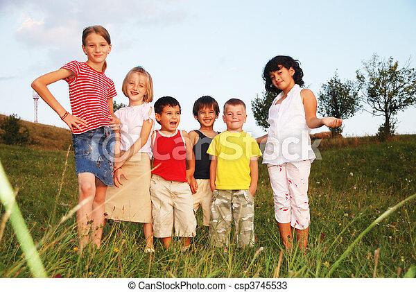 happy kids - csp3745533