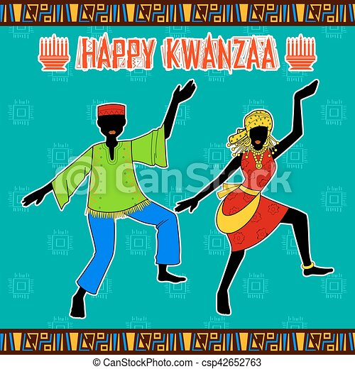 Happy kwanzaa greetings for celebration of african american holiday happy kwanzaa greetings for celebration of african american holiday festival harvest csp42652763 m4hsunfo