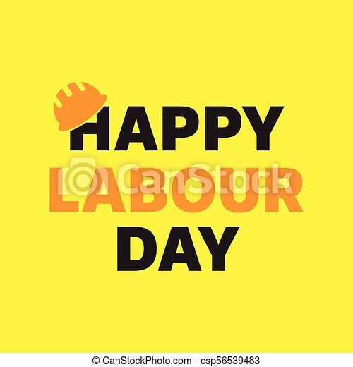 Happy labour day greeting card poster vector happy labour day happy labour day greeting card poster vector m4hsunfo