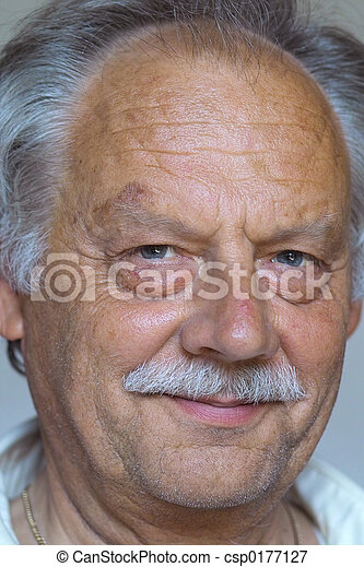 Mature And Old Man