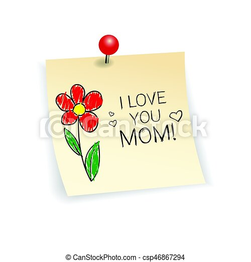 Happy mother day spring holiday greeting card banner vector happy mother day spring holiday greeting card banner csp46867294 m4hsunfo