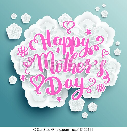 Happy Mothers Day Banner Vector Illustration