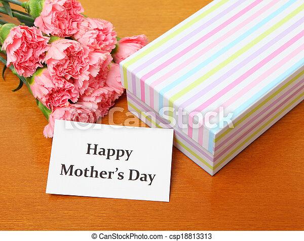 Happy mother's day concept - csp18813313