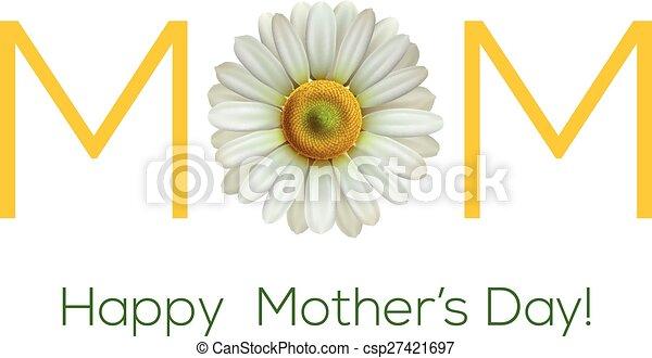 Happy mothers day - csp27421697