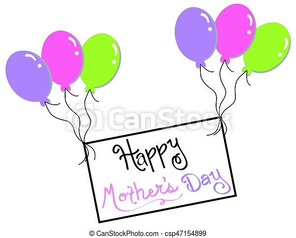 Happy Mothers Day - csp47154899