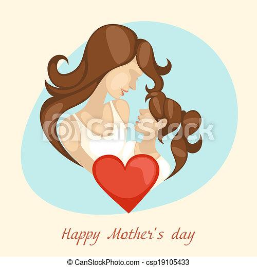 Happy Mothers Day. - csp19105433