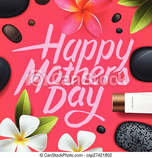 Happy mothers day. Spa therapy. - csp27421802