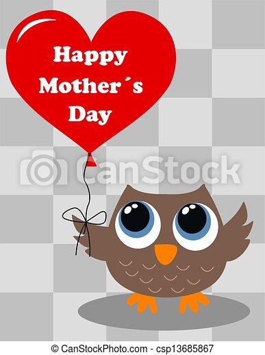 happy mothers day - csp13685867