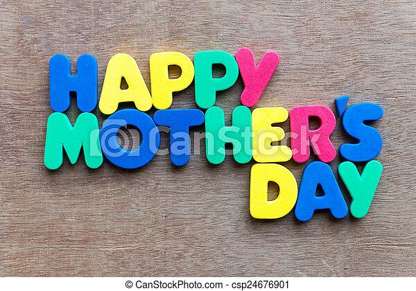 happy mother's day - csp24676901