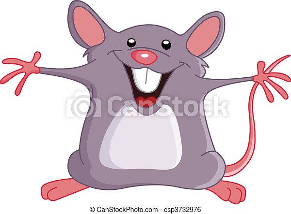 Happy mouse - csp3732976