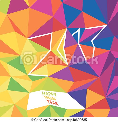 Happy new 2017 year greetings typography design new year card happy new 2017 year greetings typography design new year card template simple colorful m4hsunfo