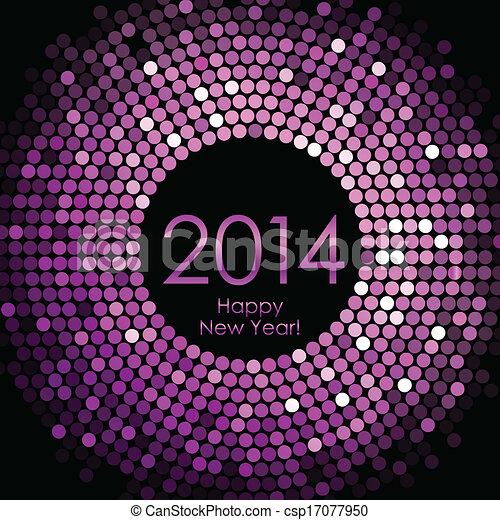 Happy New Year 2014 - csp17077950