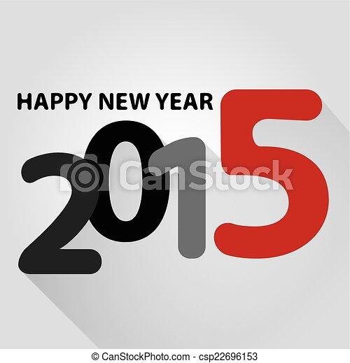 happy new year 2015 - csp22696153